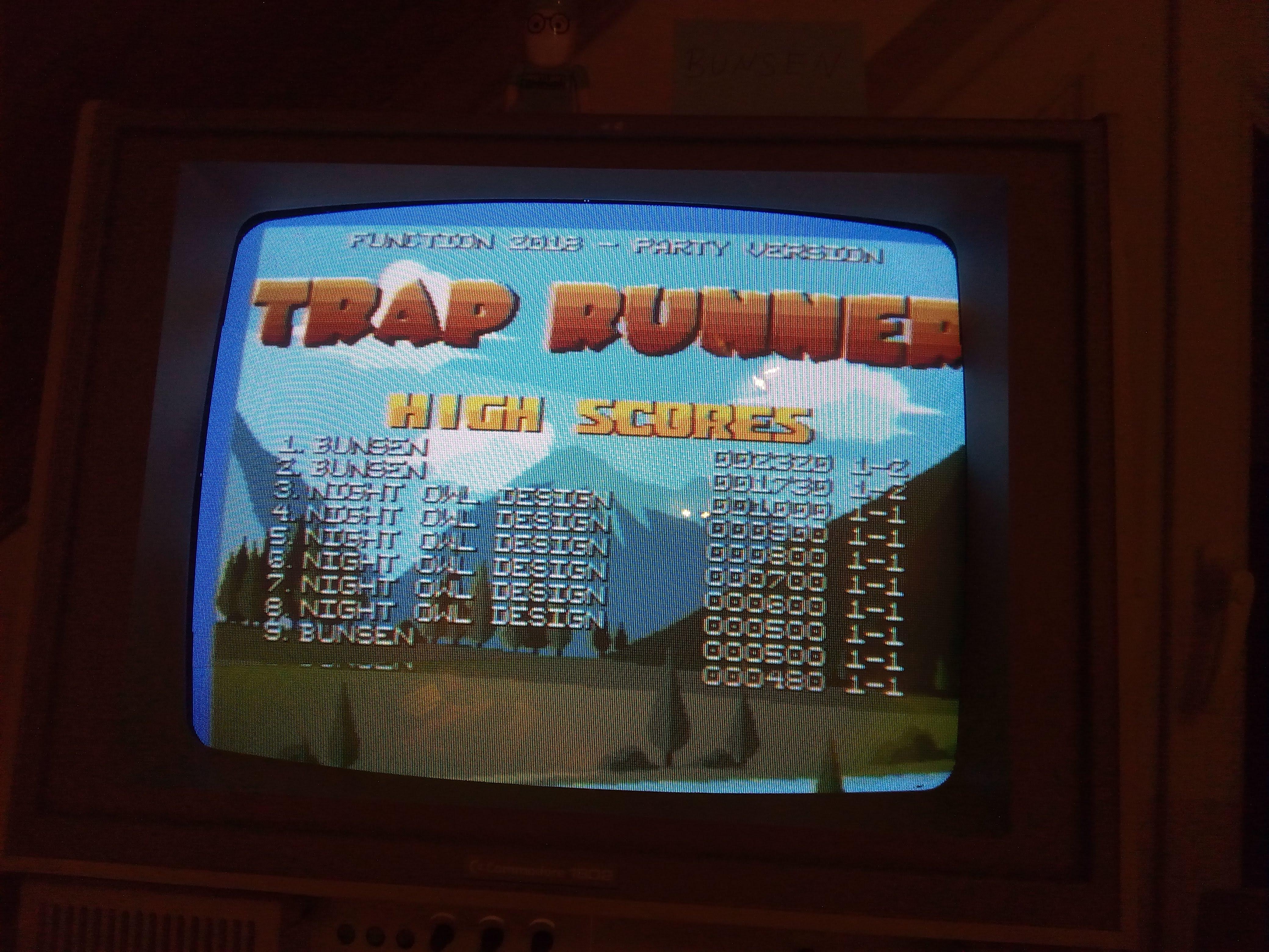 Trap Runner 2,320 points