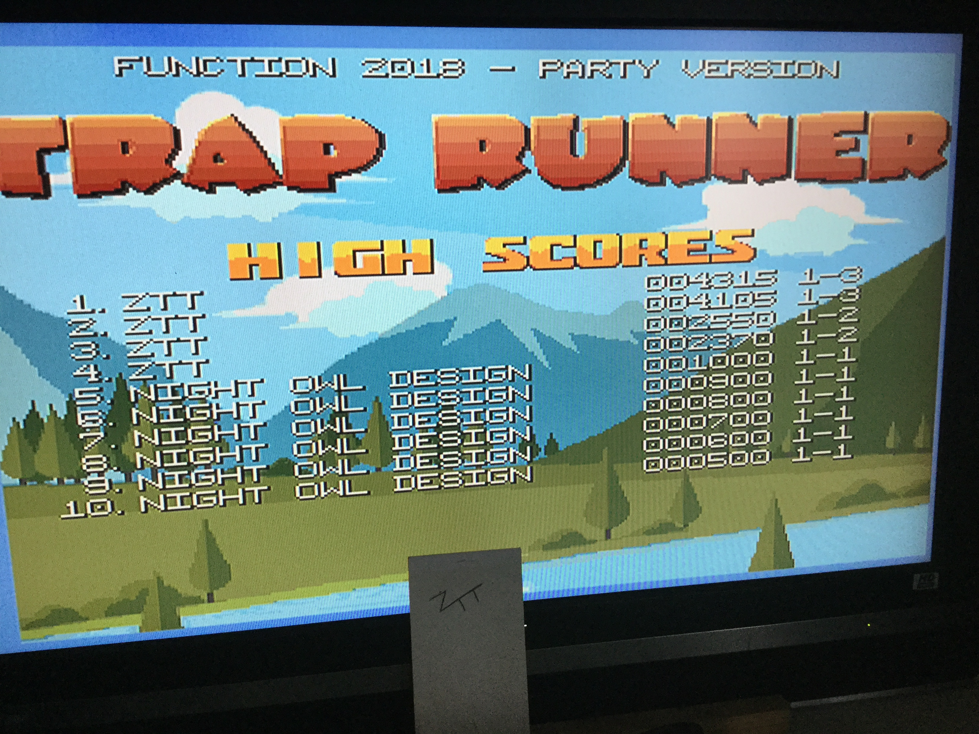 Frankie: Trap Runner (Amiga) 4,315 points on 2019-01-06 07:02:39