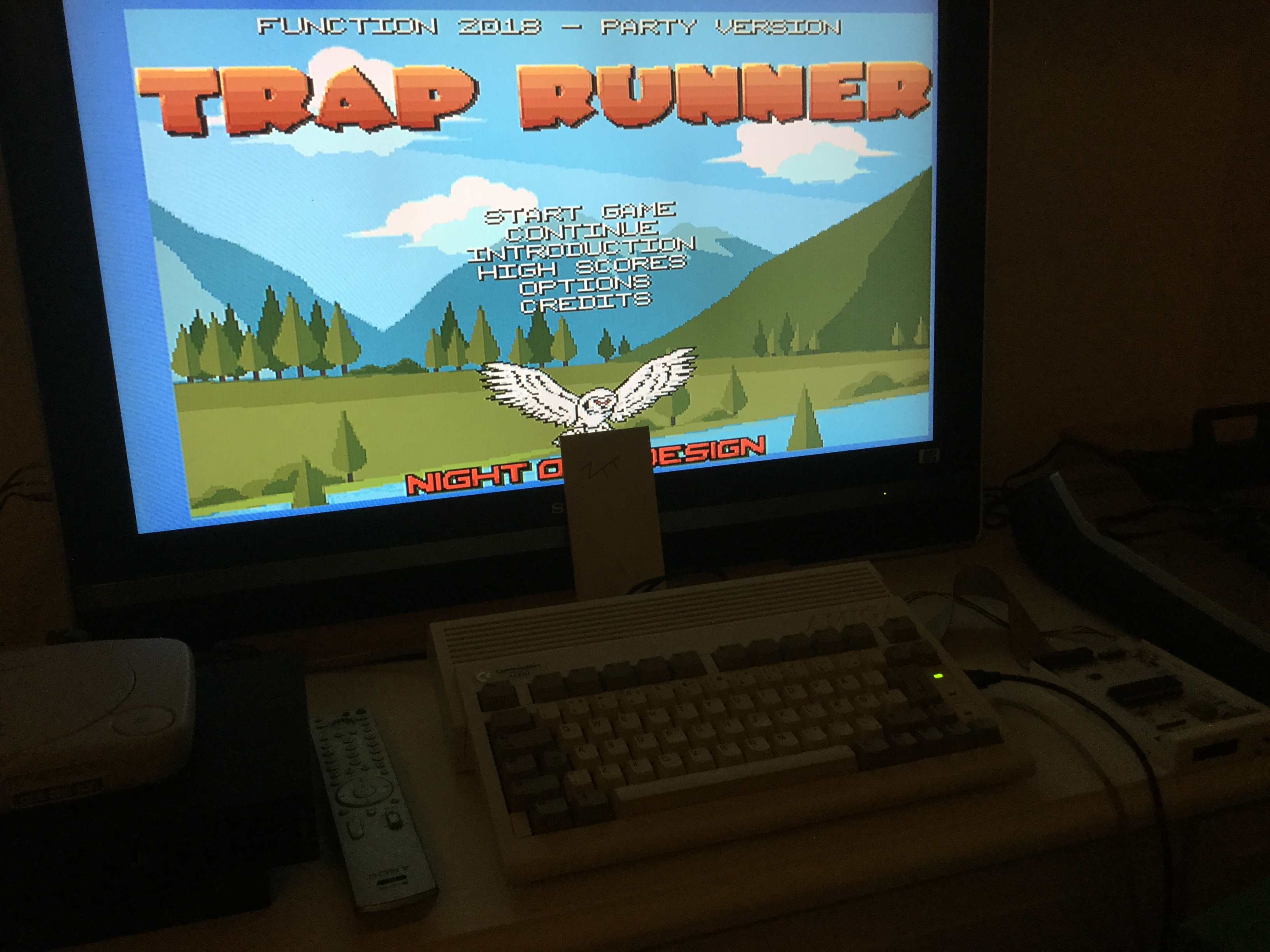 Frankie: Trap Runner (Amiga) 5,605 points on 2020-04-18 03:13:24