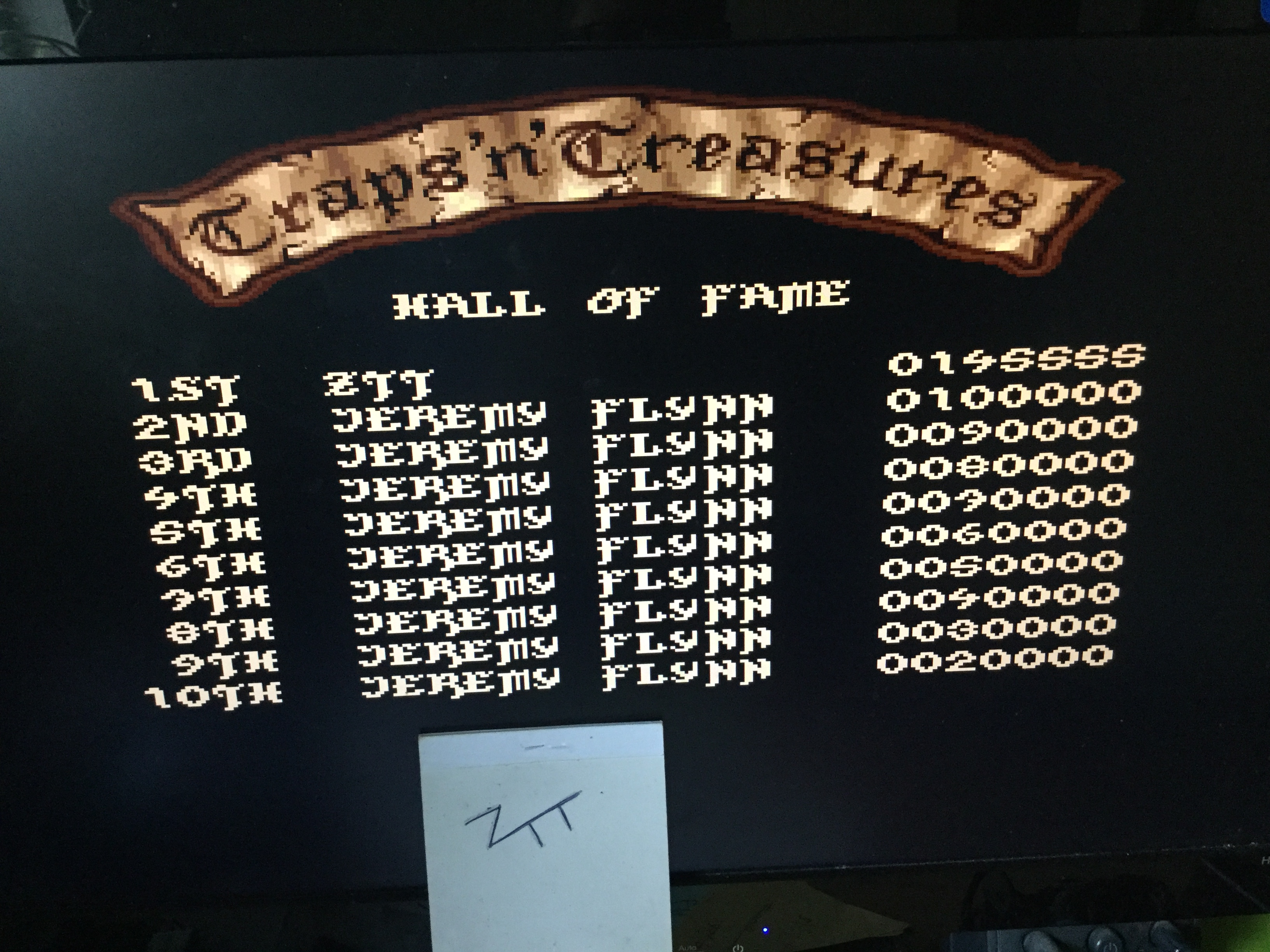 Frankie: Traps 'n' Treasures (Amiga Emulated) 145,555 points on 2018-02-17 07:12:47