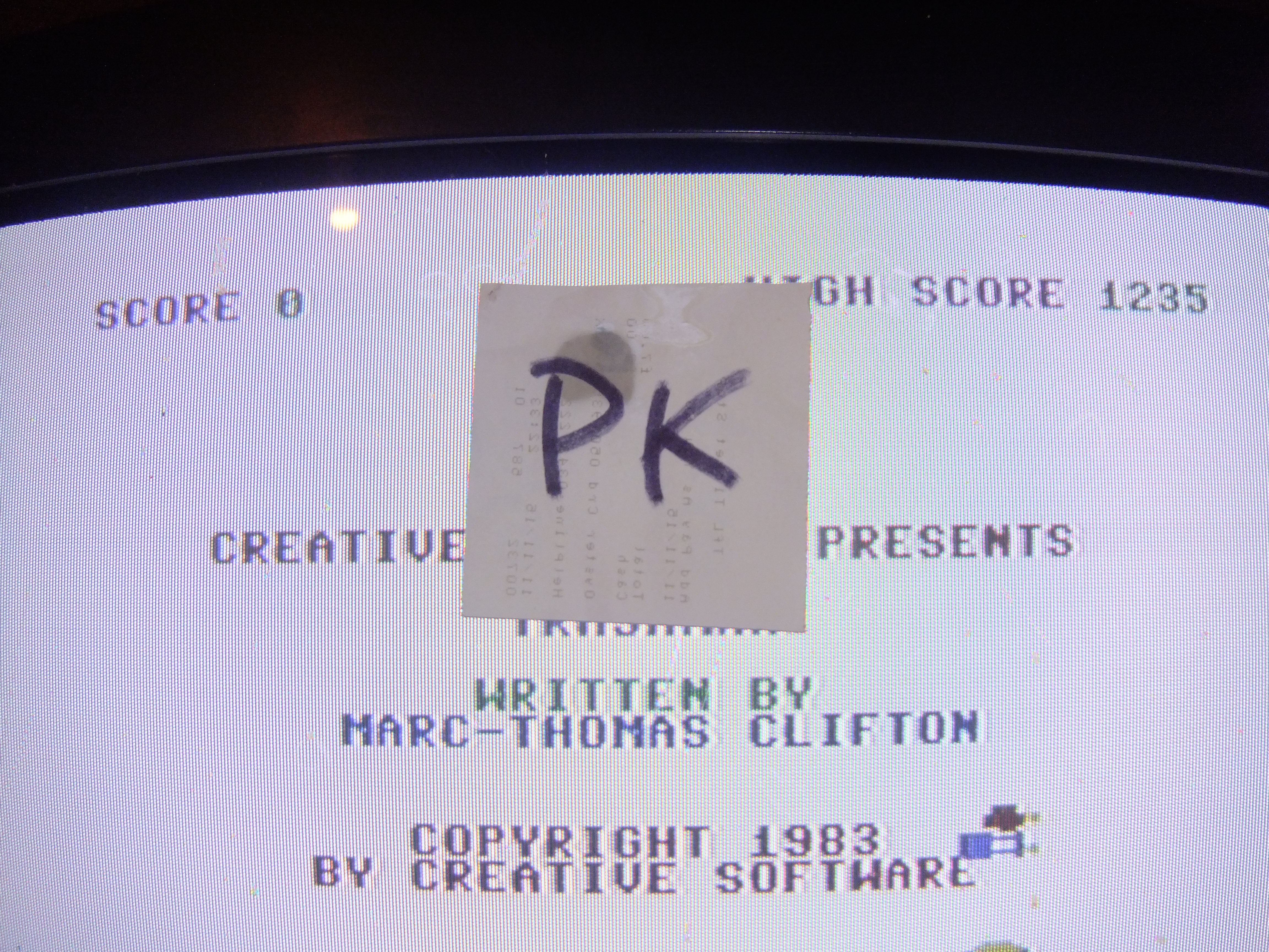kernzy: Trashman [Creative Software] (Commodore 64) 1,235 points on 2015-11-25 14:59:58