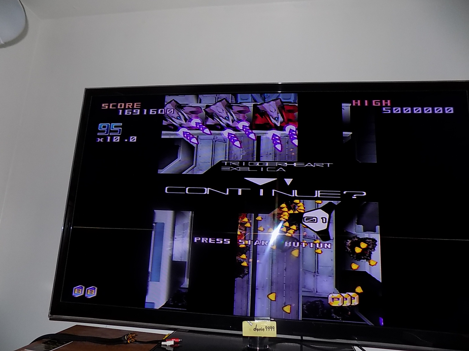 darrin9999: Triggerheart Exelica [Arcade Mode] (Dreamcast) 1,691,640 points on 2019-11-11 10:59:19