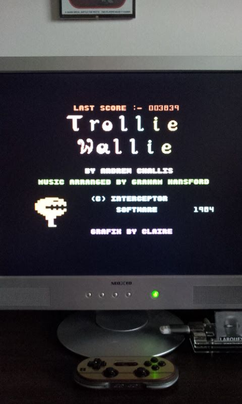 Larquey: Trollie Wallie (Commodore 64 Emulated) 3,839 points on 2017-03-03 05:27:16