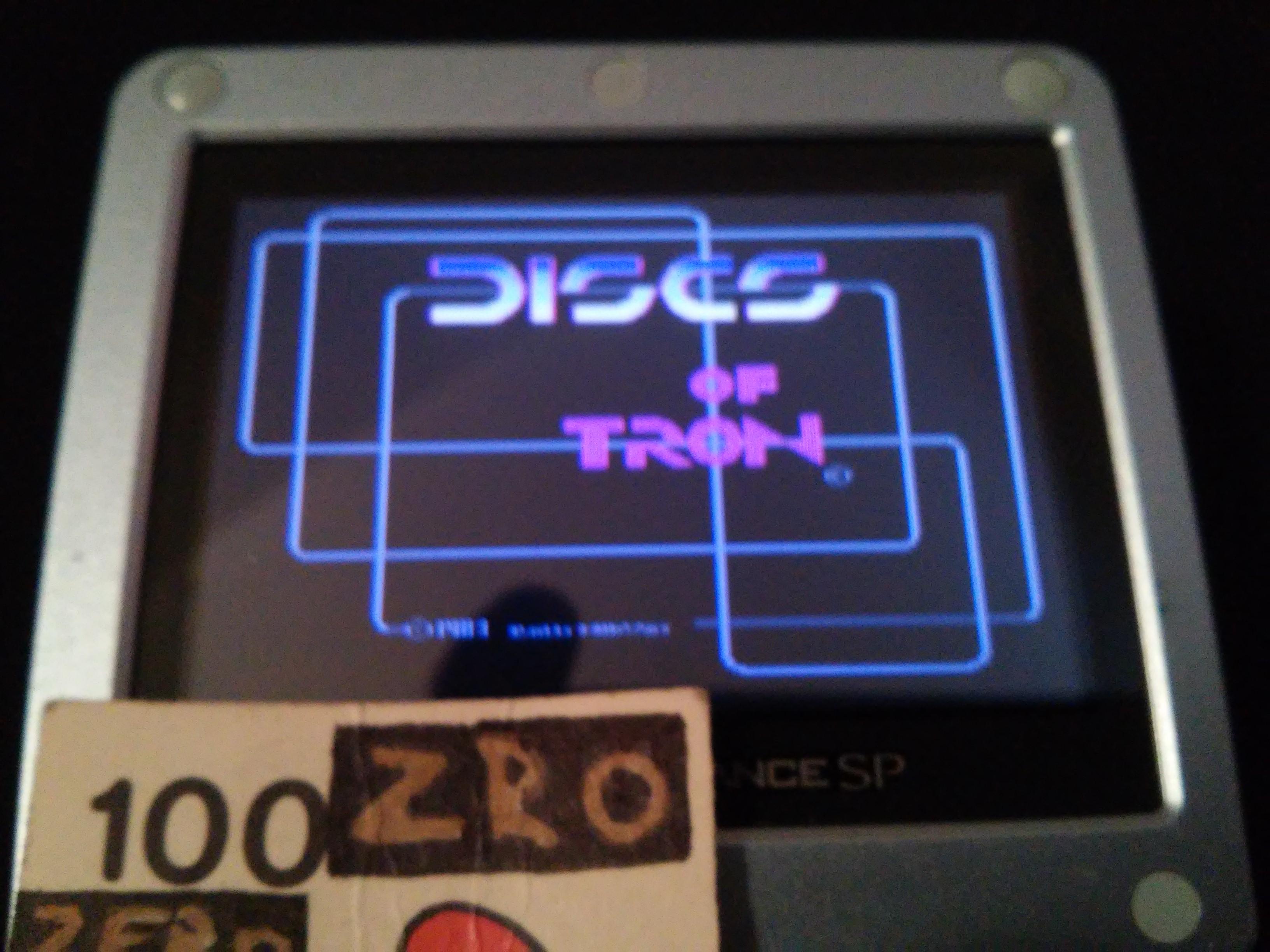 Tron 2.0 Killer App: Discs of Tron 9,700 points