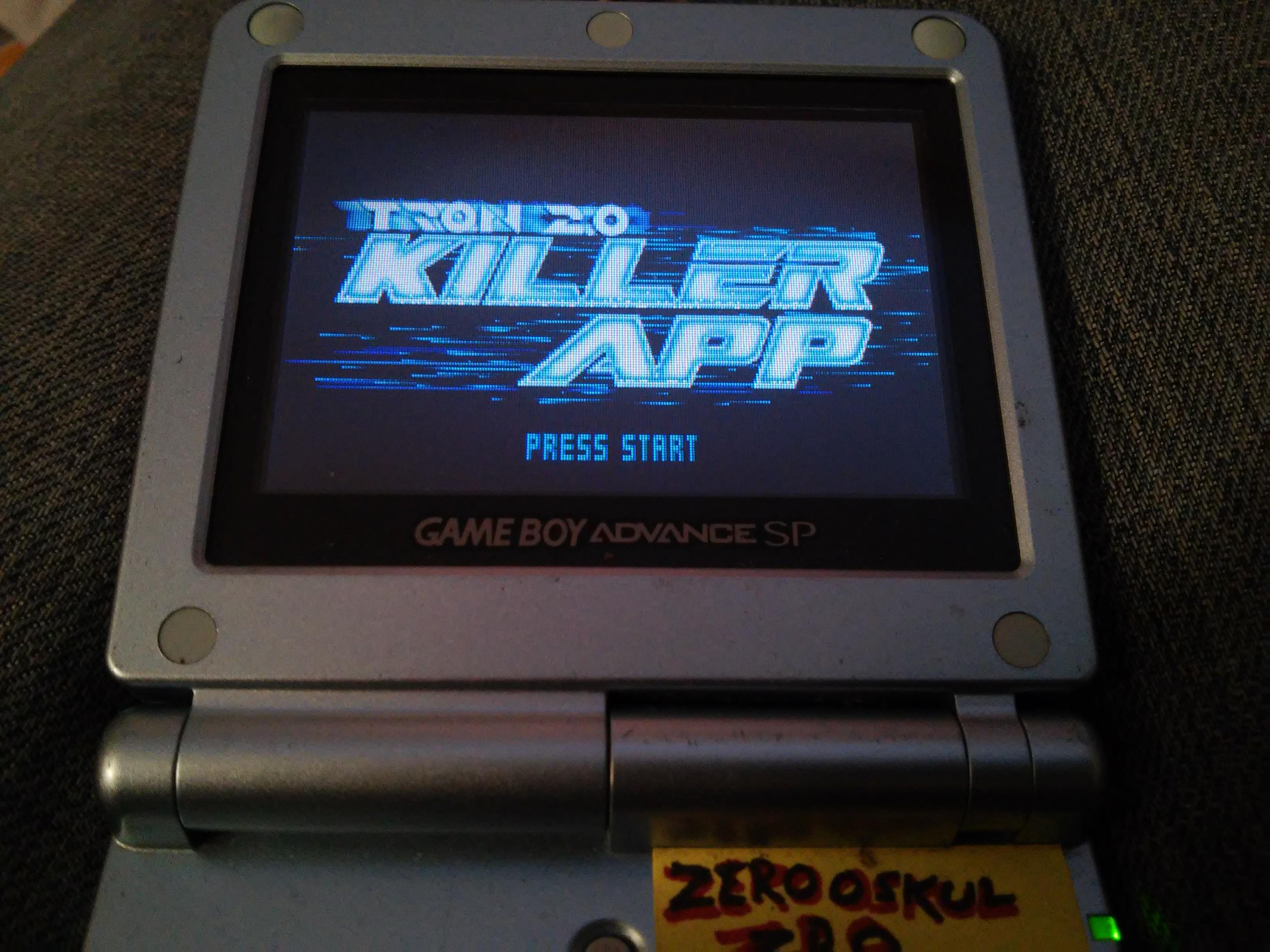 zerooskul: Tron 2.0 Killer App: Discs of Tron (GBA) 40,200 points on 2019-03-06 18:26:18