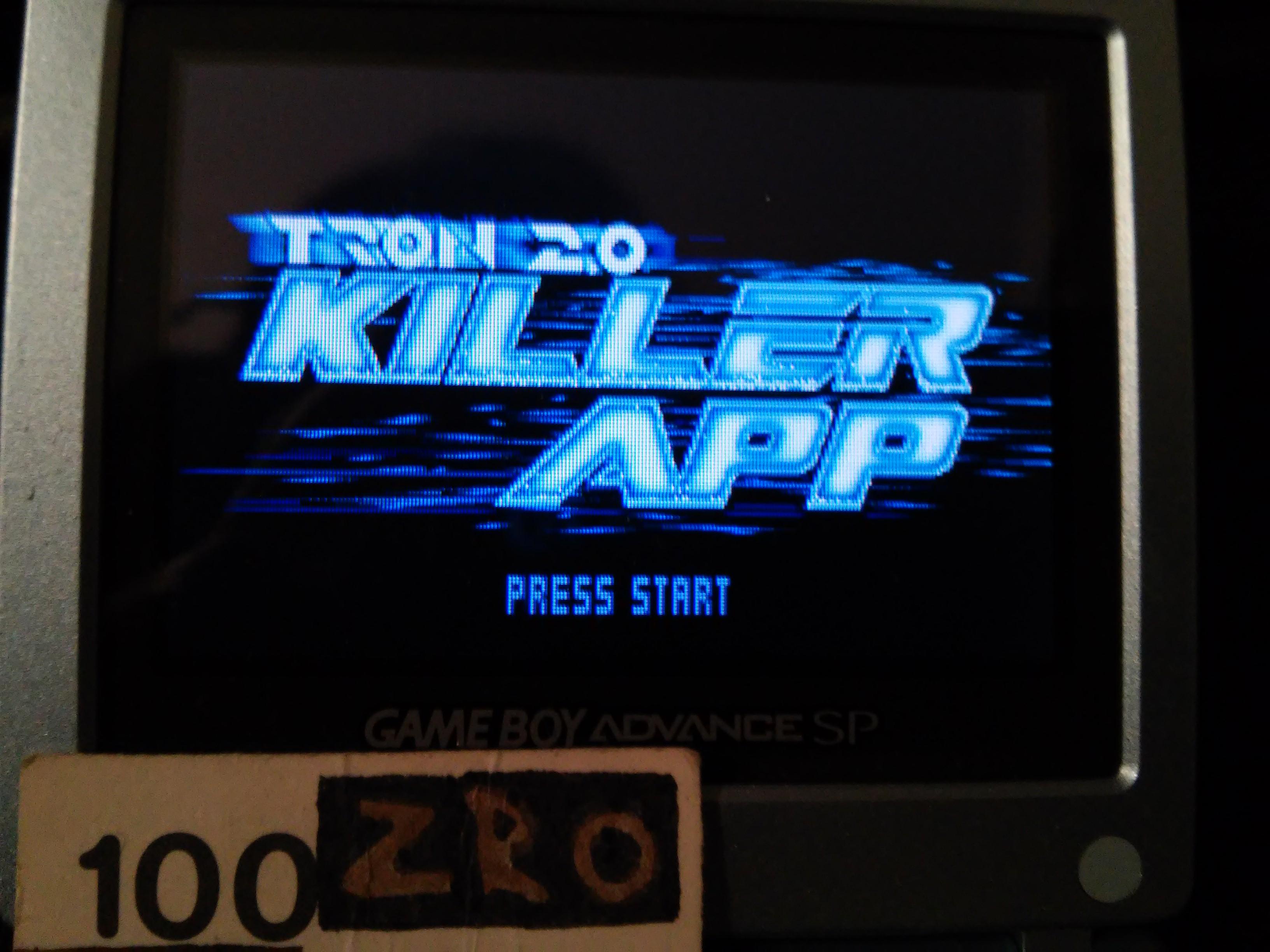 zerooskul: Tron 2.0 Killer App: Tron (GBA) 40,789 points on 2019-02-09 01:21:27
