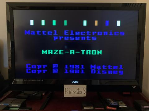 Rickster8: Tron: Maze-A-Tron [Slow] (Intellivision) 1,752,436 points on 2020-12-27 22:31:00