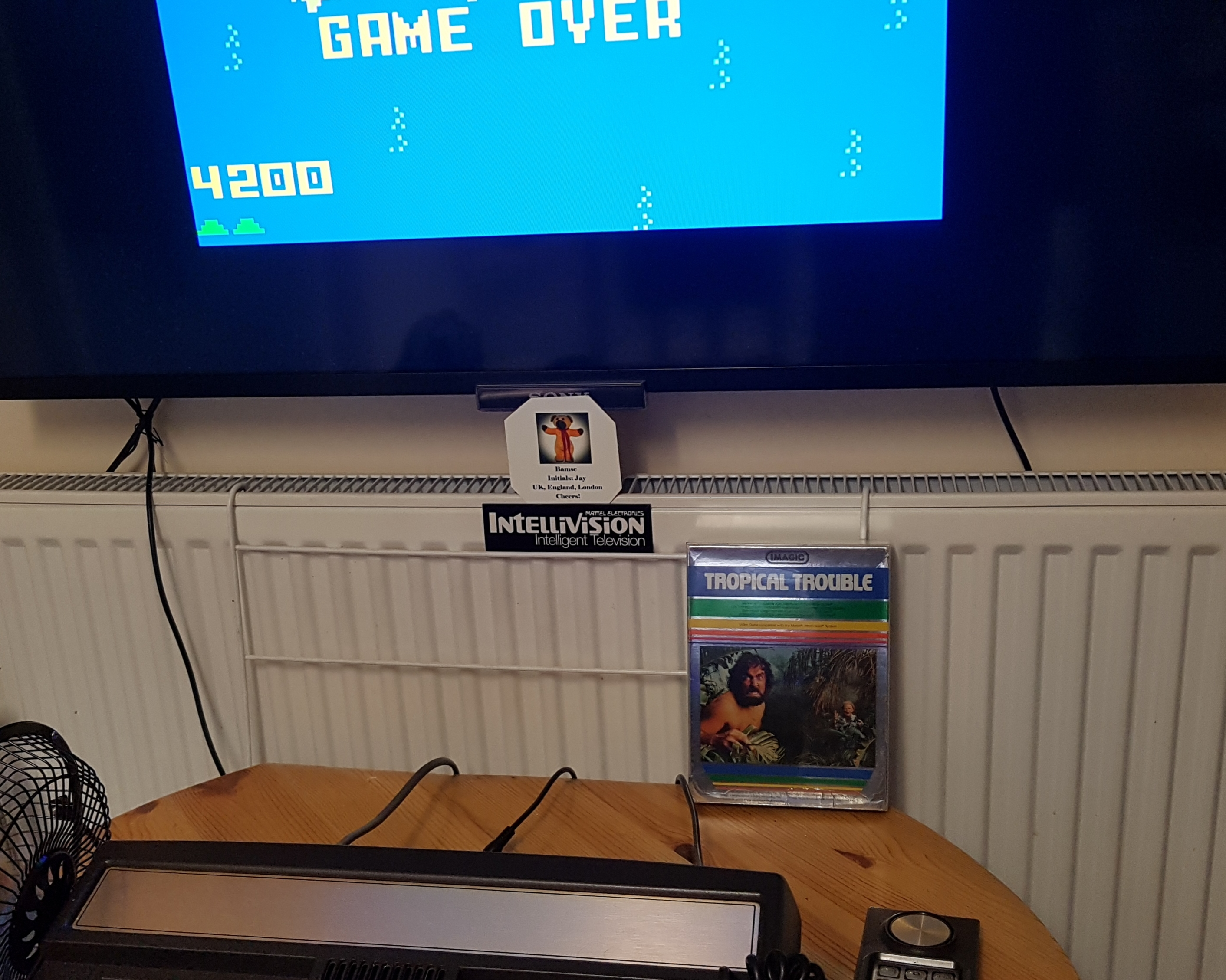 Bamse: Tropical Trouble [Hard] (Intellivision) 4,200 points on 2019-03-04 08:46:18