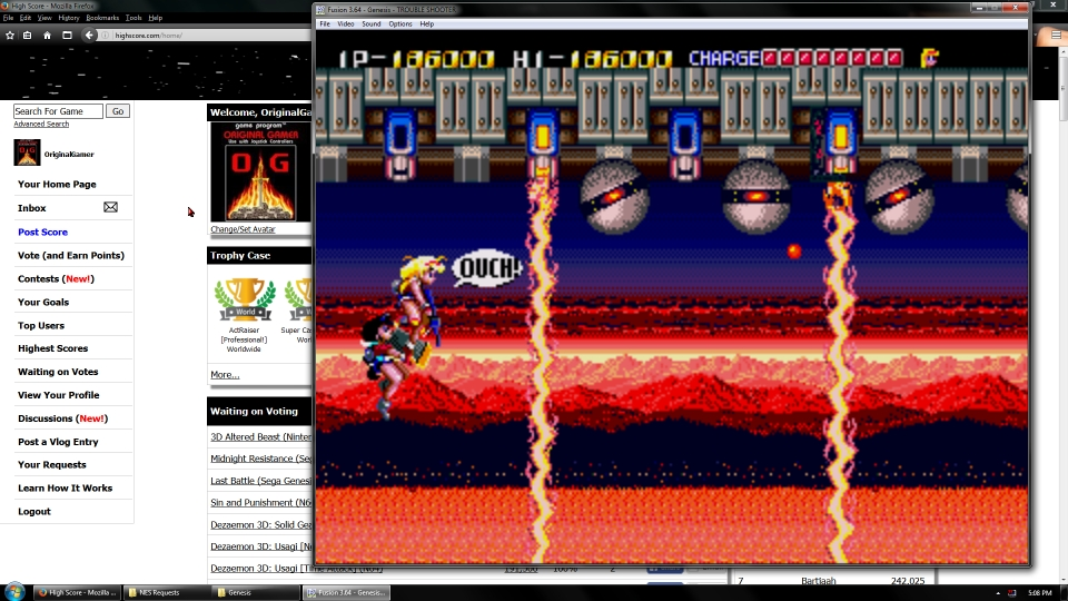 OriginalGamer: Trouble Shooter (Sega Genesis / MegaDrive Emulated) 186,000 points on 2016-07-02 14:46:39