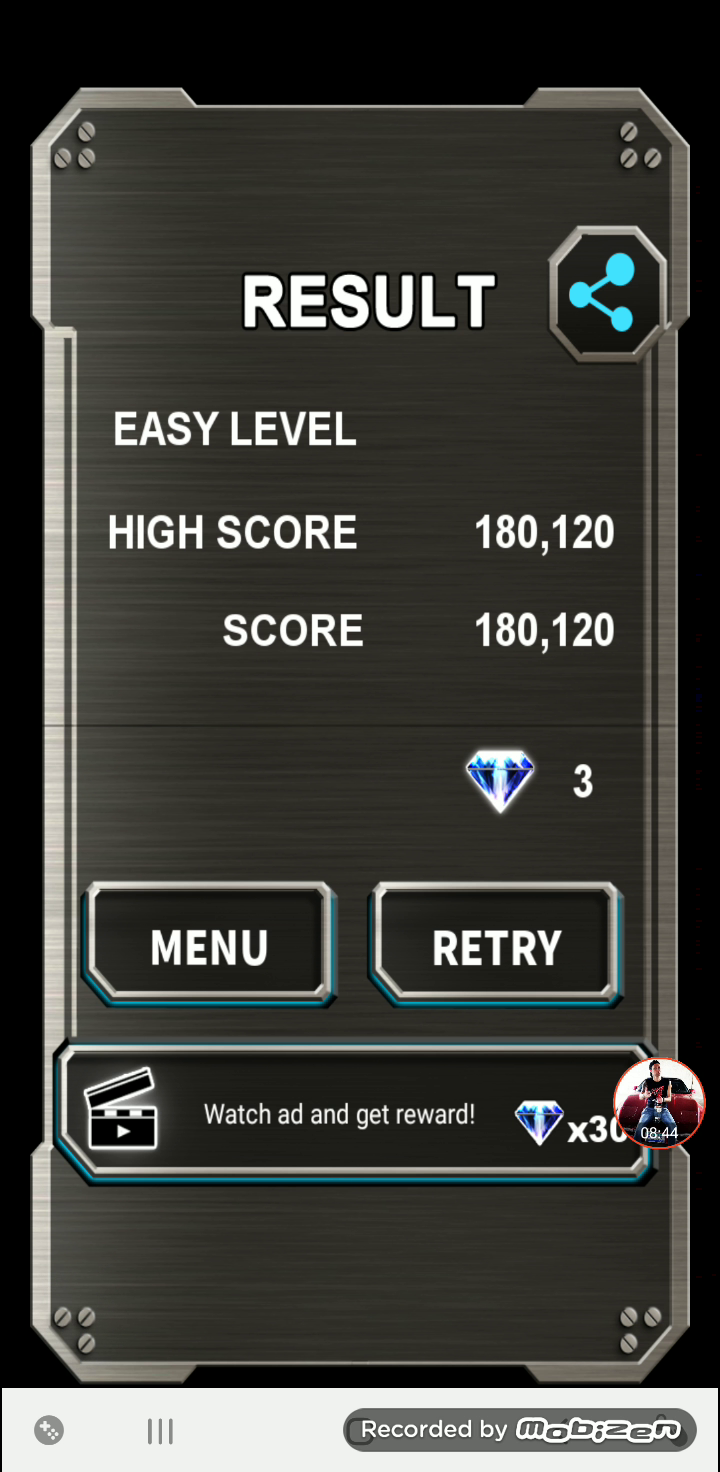 JES: Truxton Classic [Easy] (Android) 180,120 points on 2020-01-15 19:18:09
