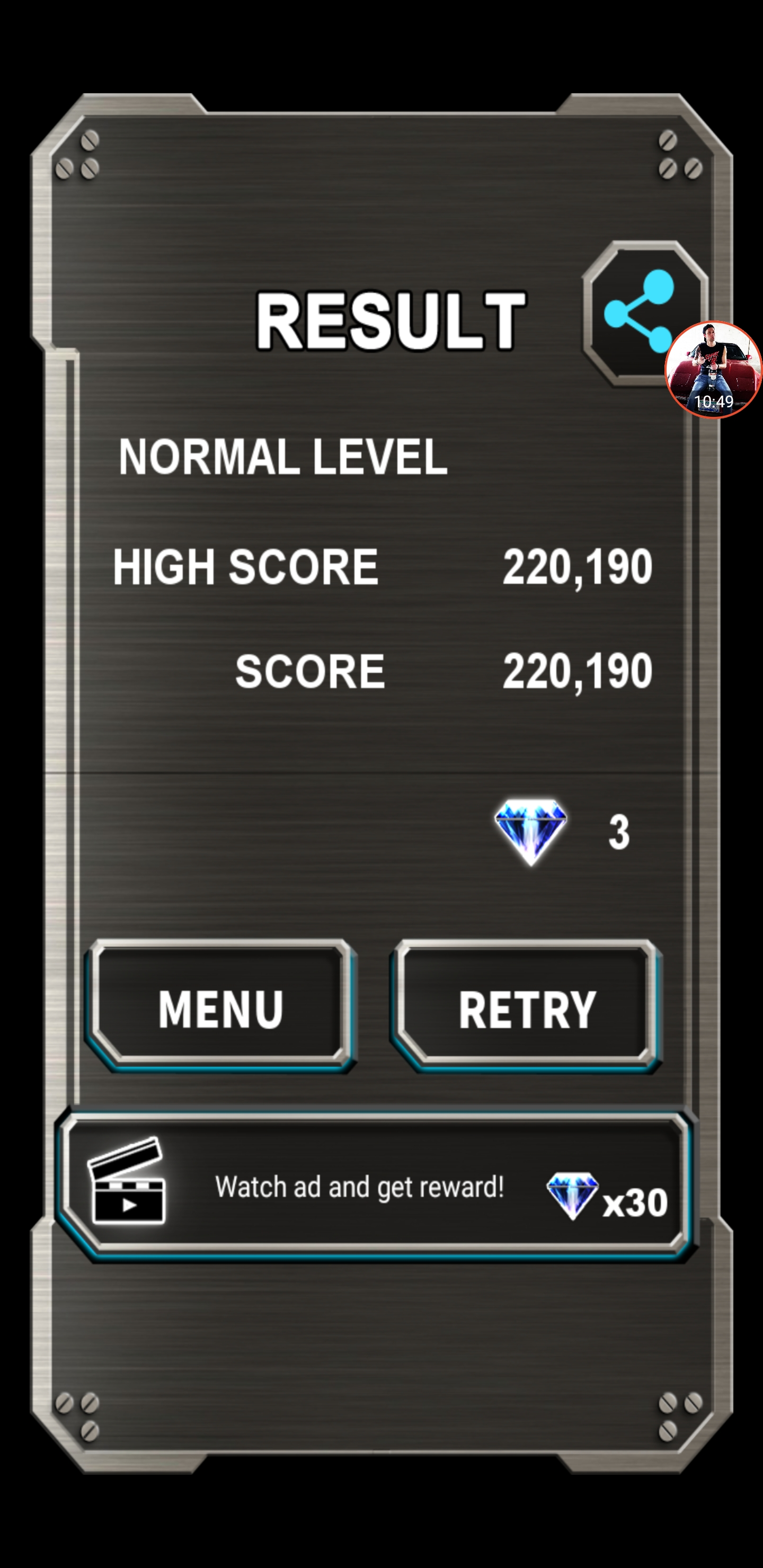 JES: Truxton Classic [Normal] (Android) 220,190 points on 2020-09-24 15:57:53