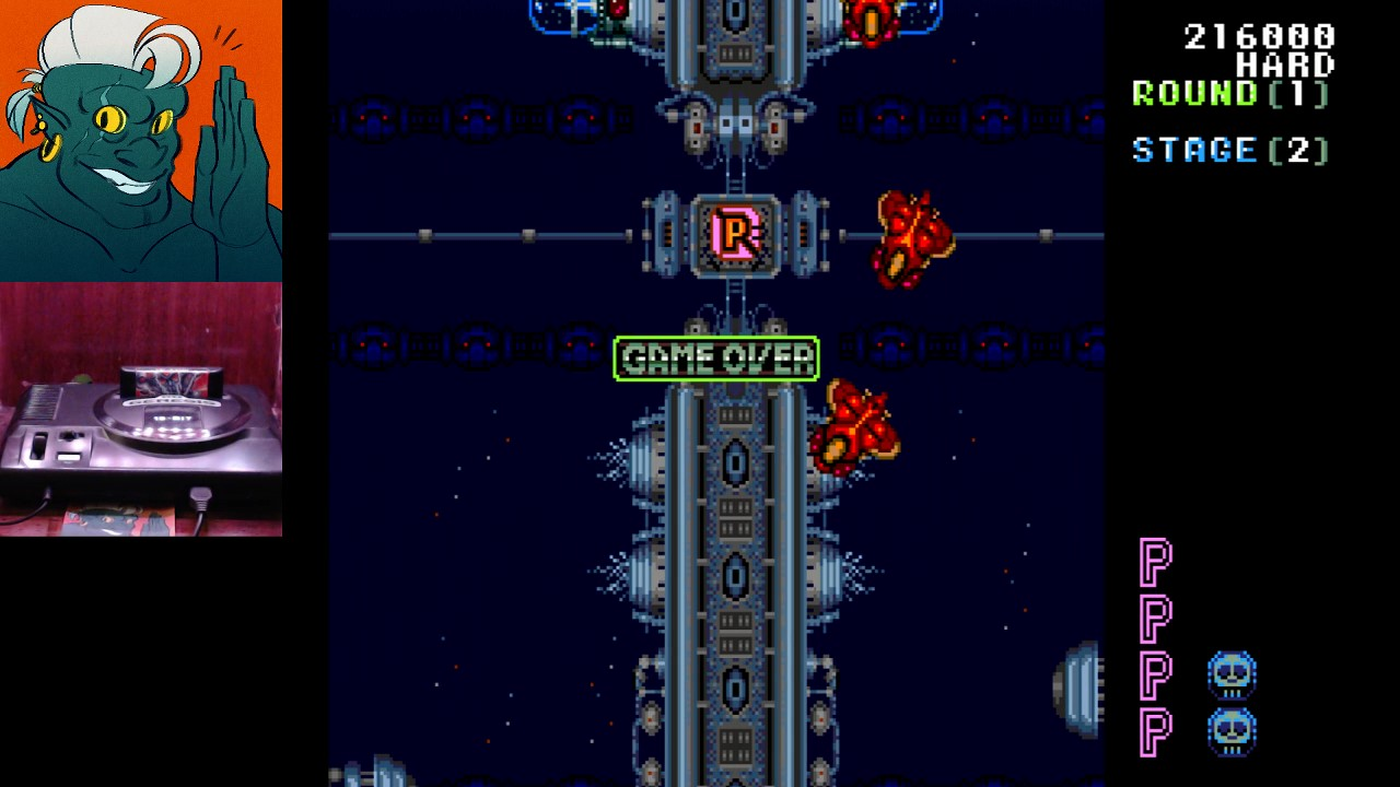 AwesomeOgre: Truxton: Hard (Sega Genesis / MegaDrive) 216,000 points on 2019-03-28 20:54:05