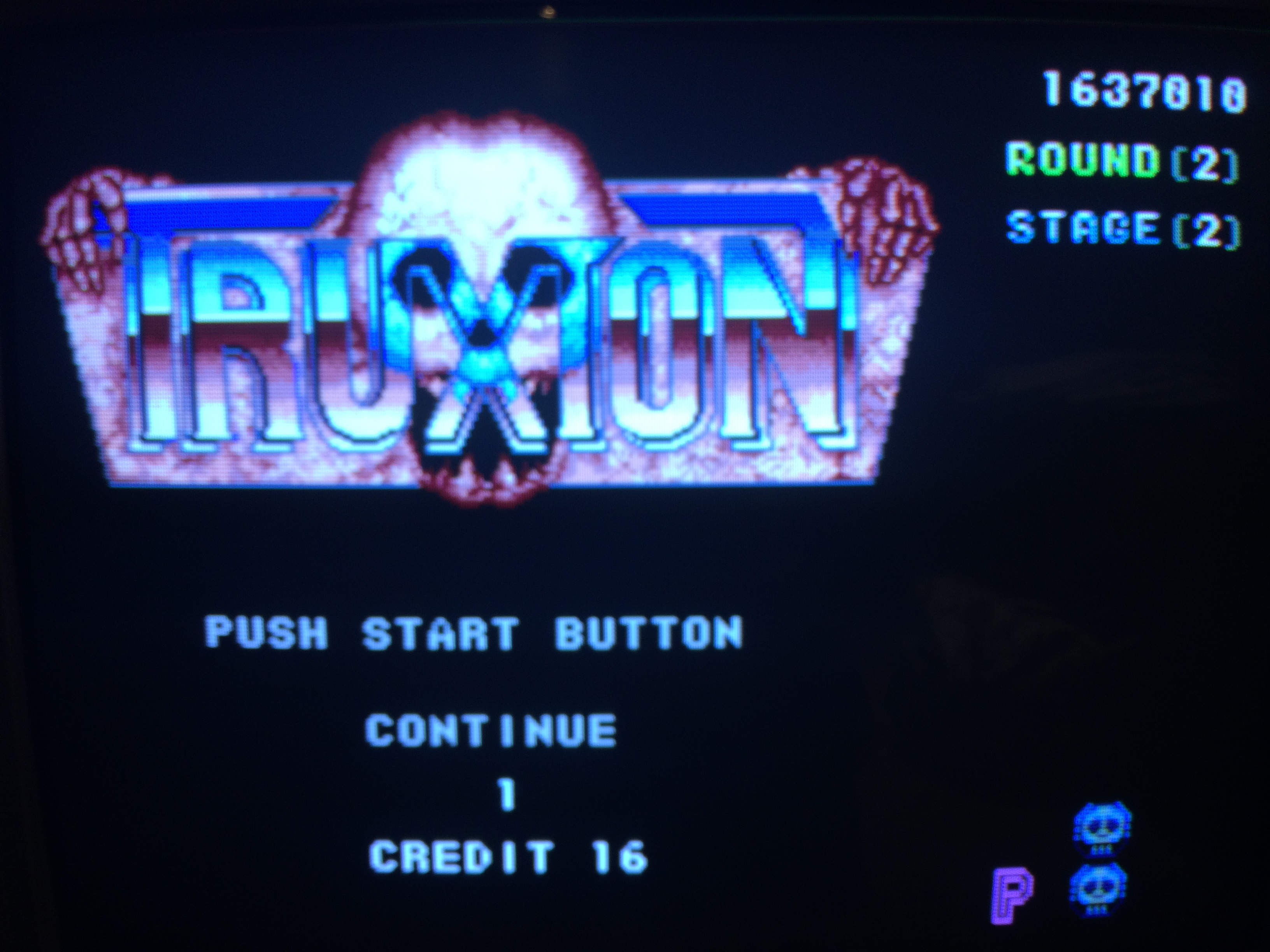 Truxton: Normal 1,637,010 points