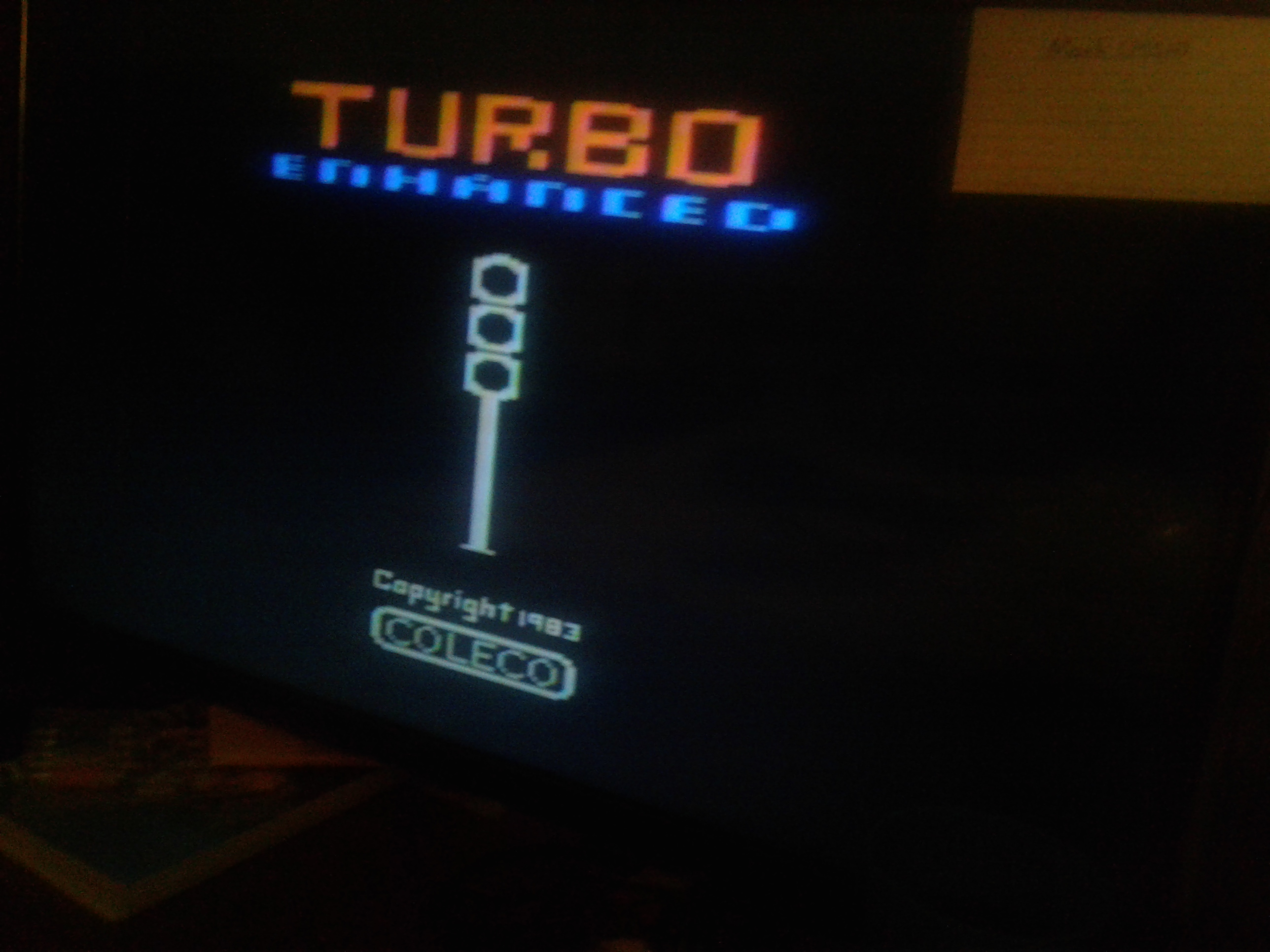Mark: Turbo (Atari 2600 Novice/B) 3,539 points on 2019-02-19 23:44:07