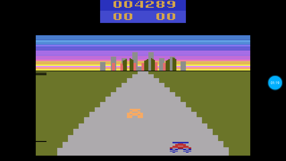 omargeddon: Turbo (Atari 2600 Emulated Expert/A Mode) 4,289 points on 2018-06-29 00:21:59