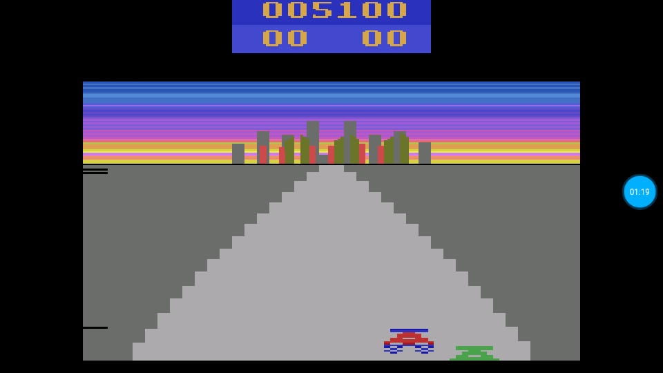 omargeddon: Turbo (Atari 2600 Emulated Novice/B Mode) 5,100 points on 2018-06-29 00:21:02