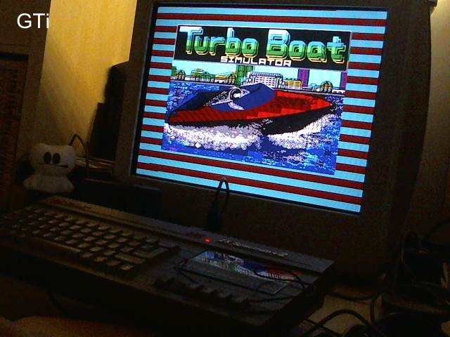 GTibel: Turbo Boat Simulator (ZX Spectrum) 2,020 points on 2017-05-31 11:42:57
