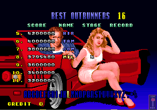 Mantalow: Turbo Outrun (Arcade Emulated / M.A.M.E.) 3,795,480 points on 2015-07-12 13:29:32