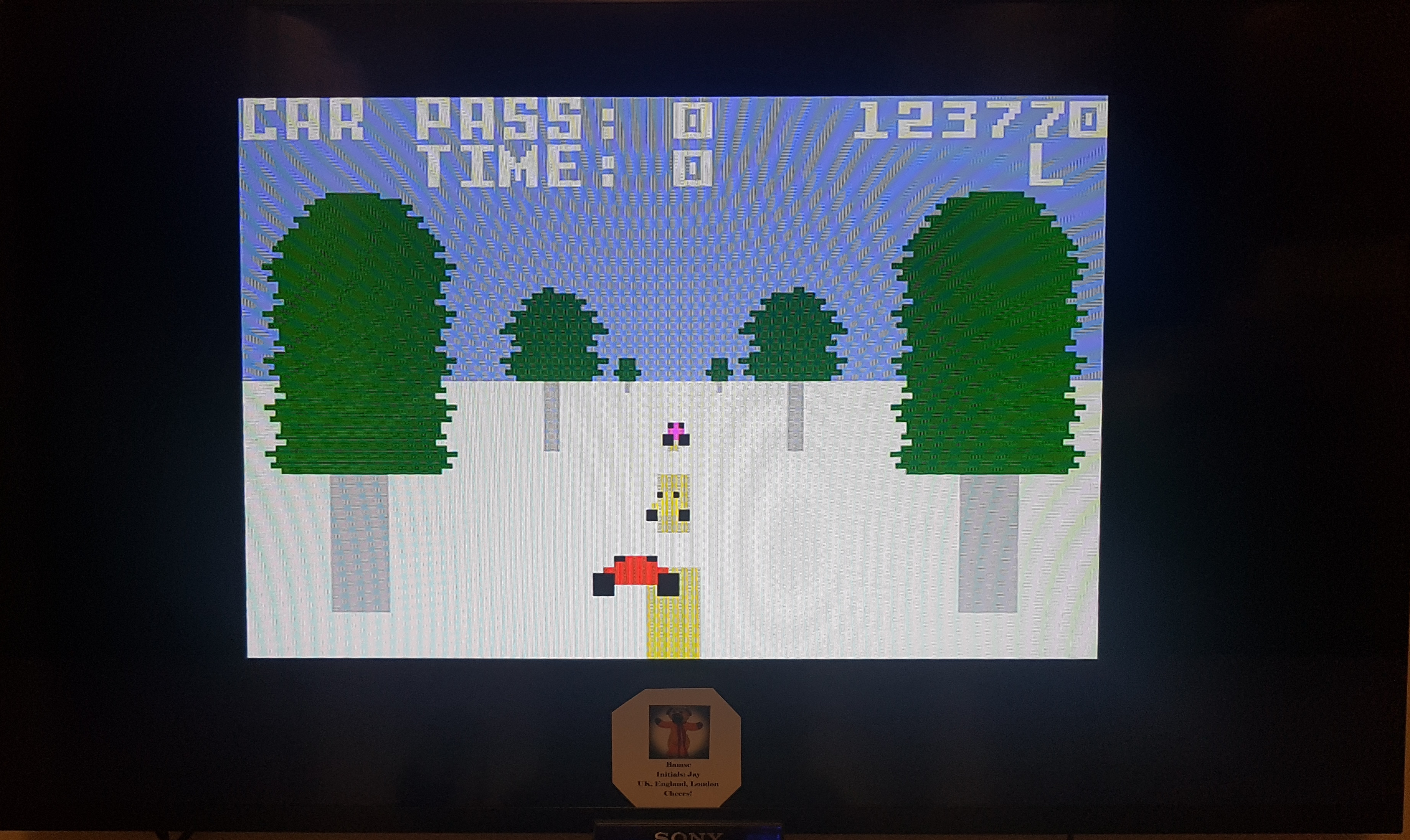 Bamse: Turbo: Skill 1 (Intellivision Emulated) 123,770 points on 2019-03-22 17:42:54