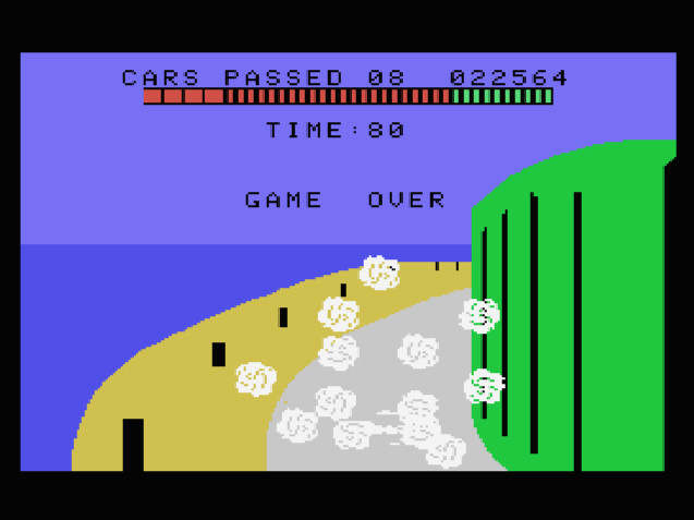 TheTrickster: Turbo: Skill 2 (Colecovision Emulated) 22,564 points on 2016-08-12 04:39:46
