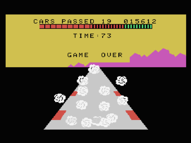 TheTrickster: Turbo: Skill 3 (Colecovision Emulated) 15,612 points on 2016-08-12 04:41:13