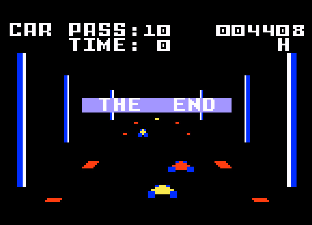 TheTrickster: Turbo: Skill 3 (Intellivision Emulated) 4,408 points on 2016-08-11 05:22:17