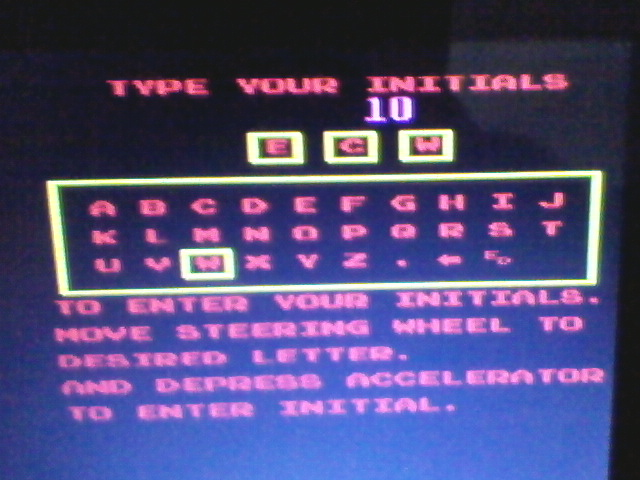 ecworiginal: Turbo [turbo] (Arcade Emulated / M.A.M.E.) 5,380 points on 2015-12-10 16:35:51
