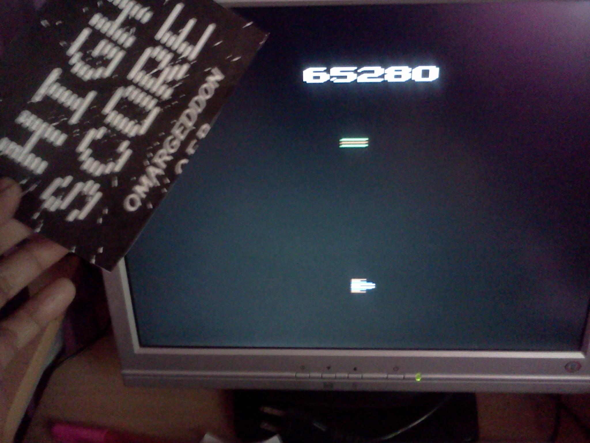 omargeddon: Turmoil (Atari 2600 Emulated) 65,280 points on 2016-09-01 17:24:24