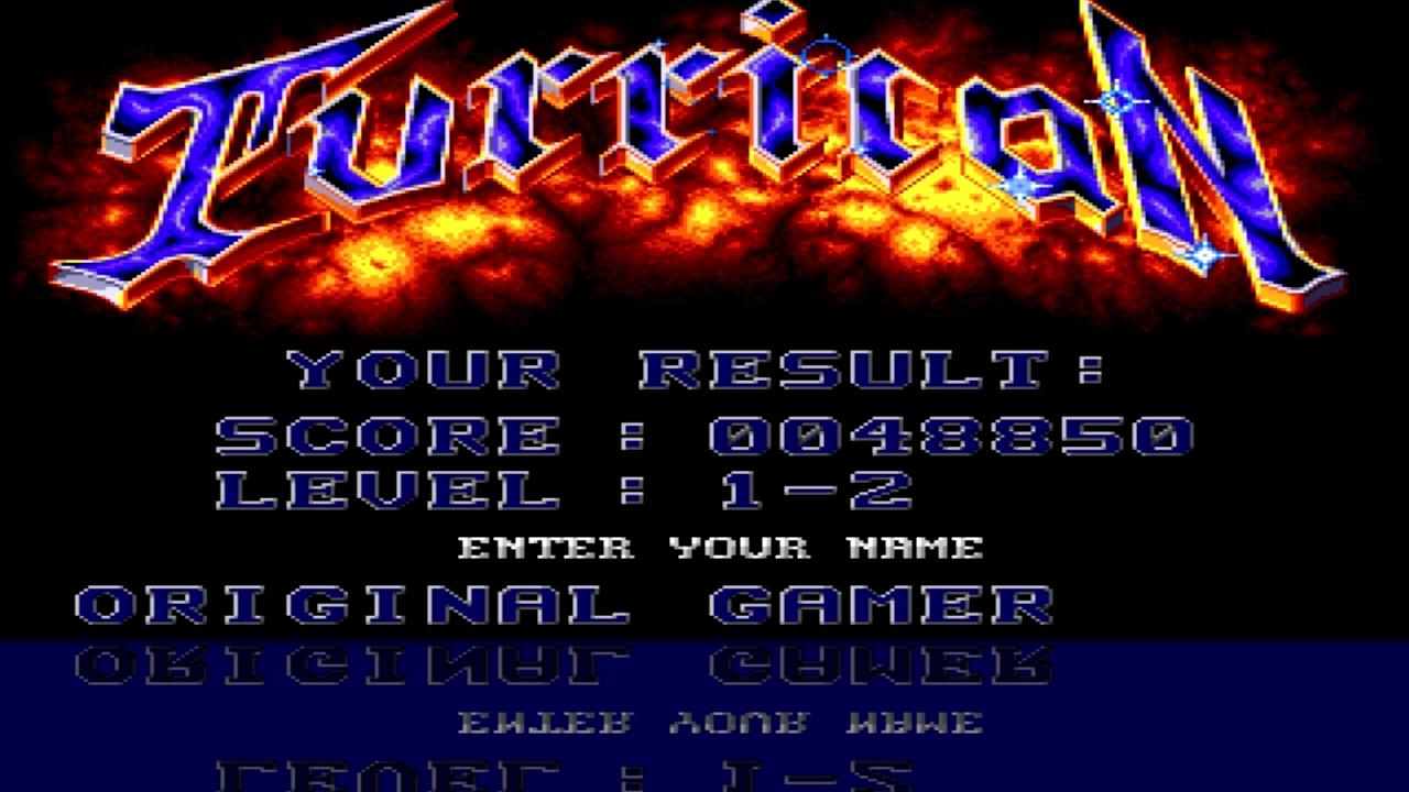 OriginalGamer: Turrican (Amiga Emulated) 48,850 points on 2015-07-16 15:47:15