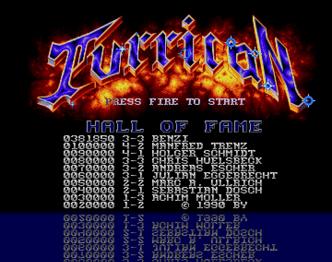 Turrican 381,850 points