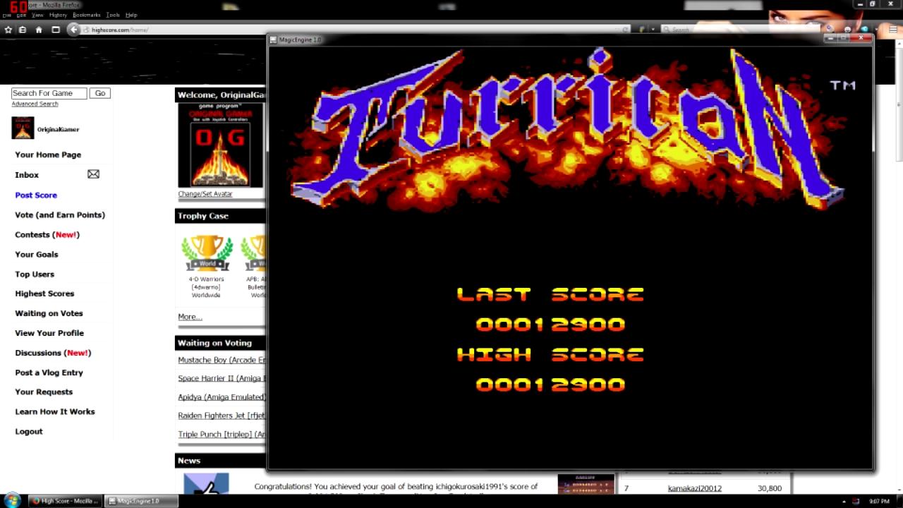 OriginalGamer: Turrican (TurboGrafx-16/PC Engine Emulated) 12,900 points on 2015-08-12 21:28:09