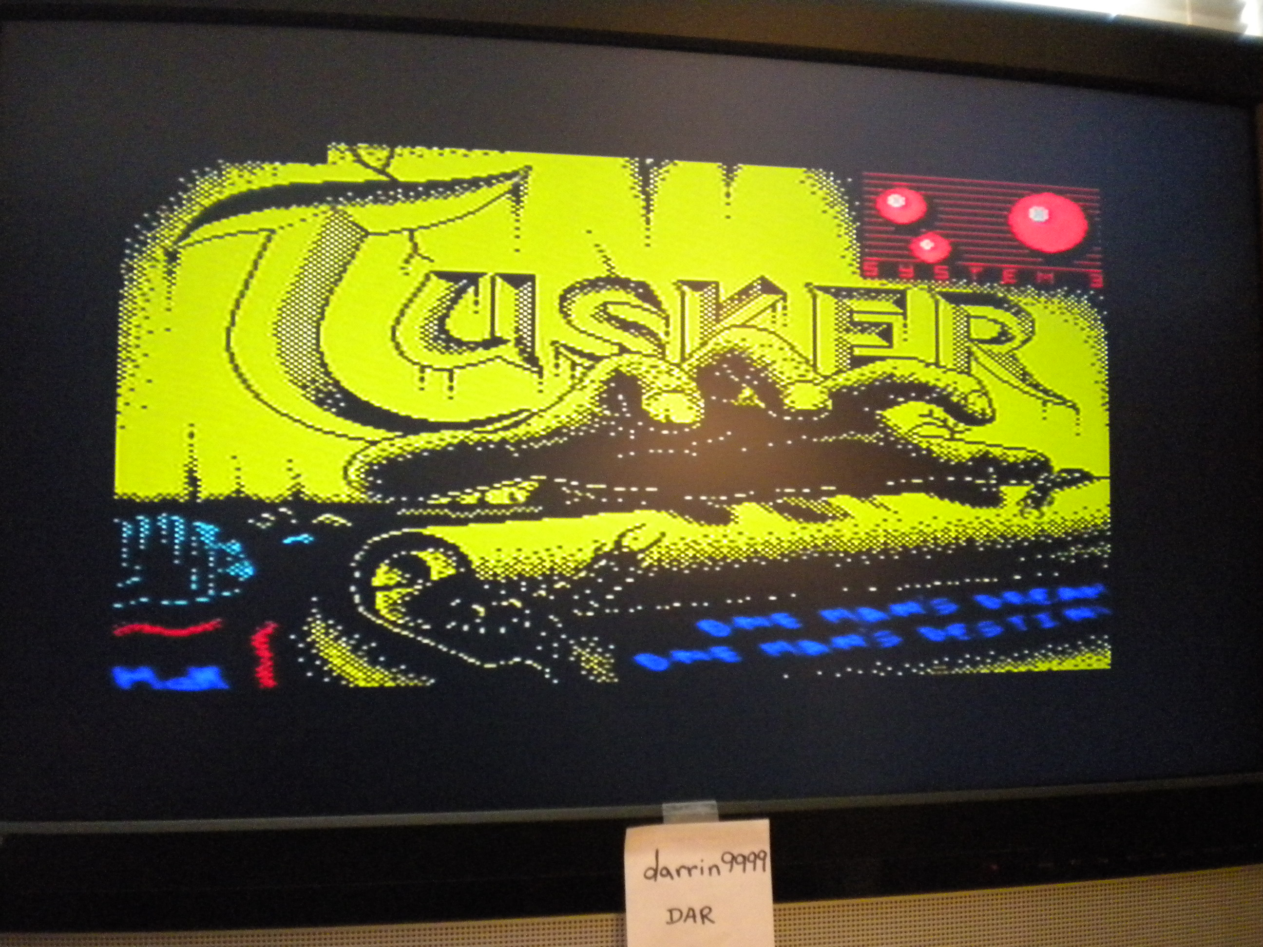 darrin9999: Tusker (ZX Spectrum Emulated) 11,900 points on 2017-05-20 12:55:16