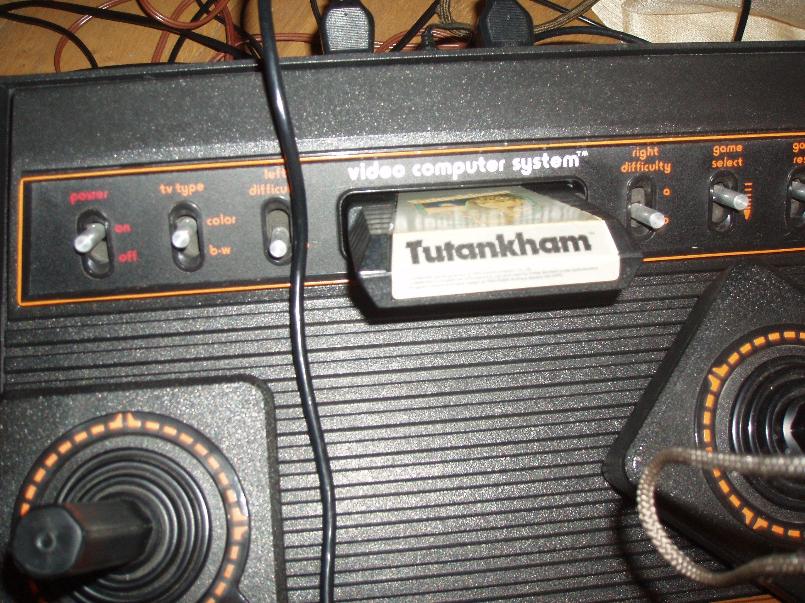 atari2600forever: Tutankham (Atari 2600) 425 points on 2017-09-01 03:59:46