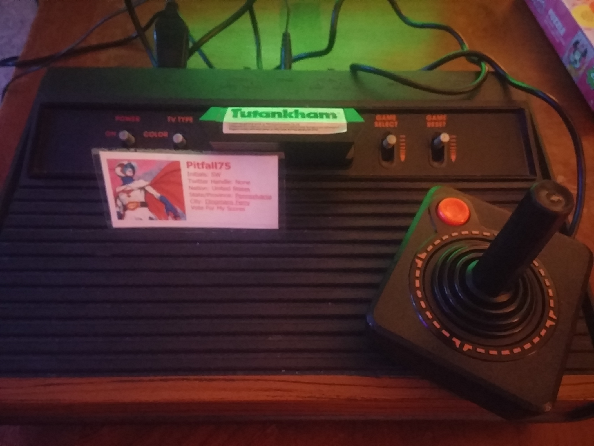 Pitfall75: Tutankham (Atari 2600) 635 points on 2018-01-26 21:42:10