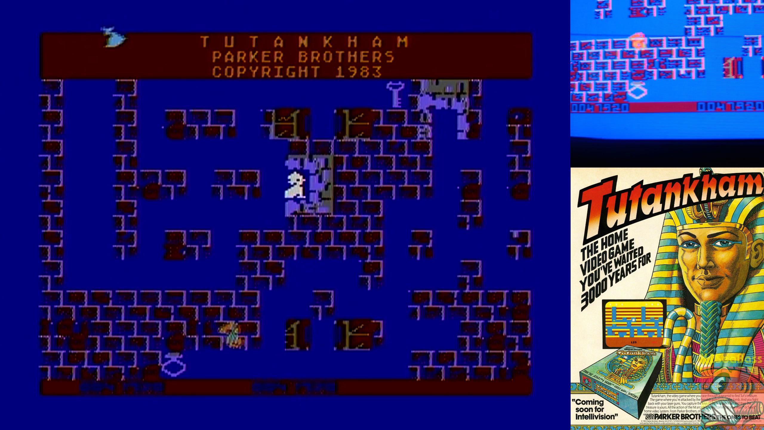 ILLSeaBass: Tutankham (Atari 400/800/XL/XE) 47,920 points on 2018-12-13 11:52:55