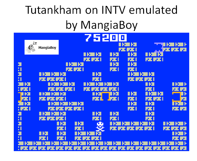 MangiaBoy: Tutankham: Level 1 (Intellivision Emulated) 75,200 points on 2016-04-07 08:53:21