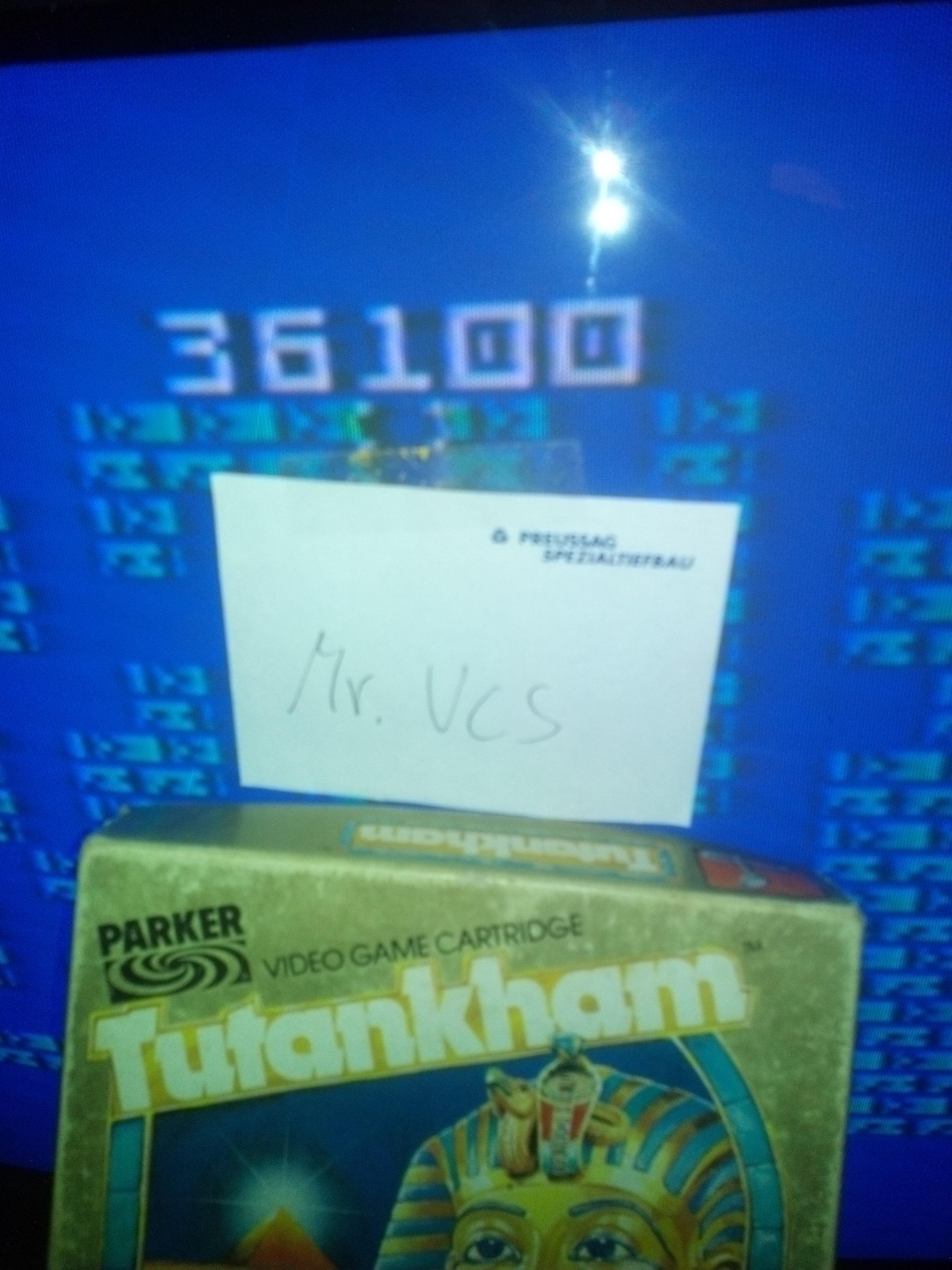 MisterVCS: Tutankham: Level 1 (Intellivision) 36,100 points on 2017-12-02 11:59:11
