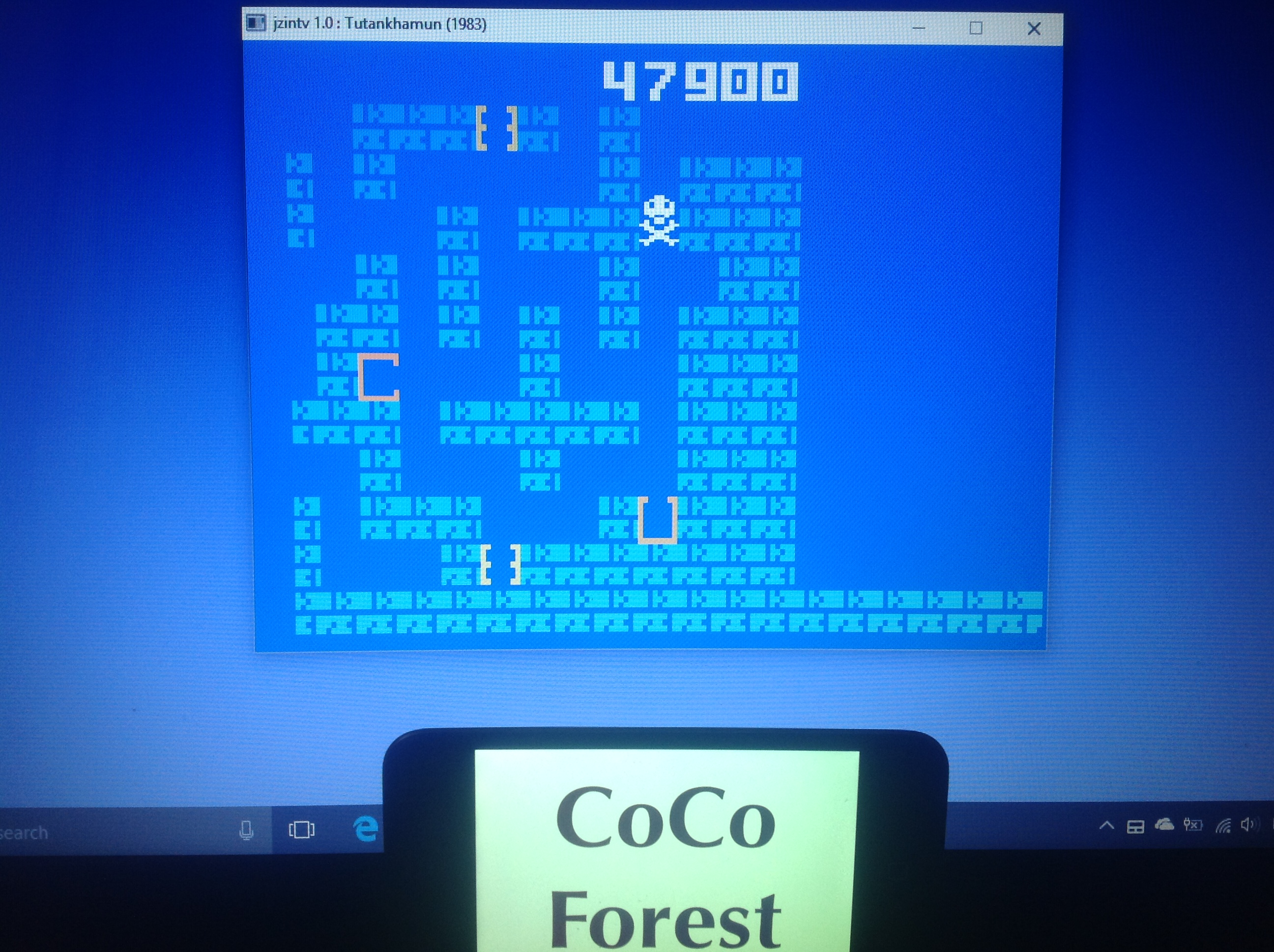 CoCoForest: Tutankham: Level 1 (Intellivision Emulated) 47,900 points on 2018-01-24 06:59:58