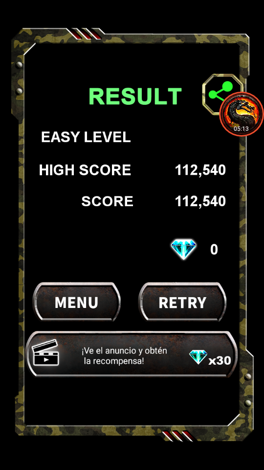 omargeddon: Twin Cobra Classic [Easy] (Android) 112,540 points on 2020-01-12 22:57:33