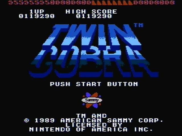 Twin Cobra 119,290 points
