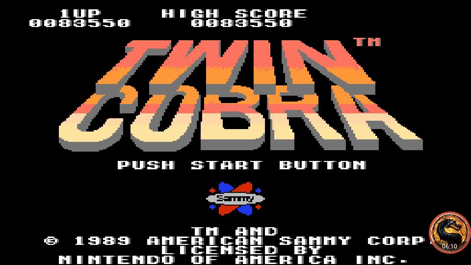 omargeddon: Twin Cobra (NES/Famicom Emulated) 83,550 points on 2019-06-24 08:51:21