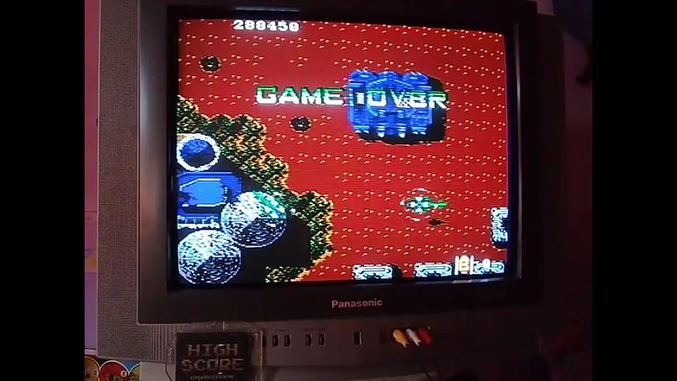 omargeddon: Twin Cobra (Sega Genesis / MegaDrive) 288,450 points on 2019-06-23 17:22:56