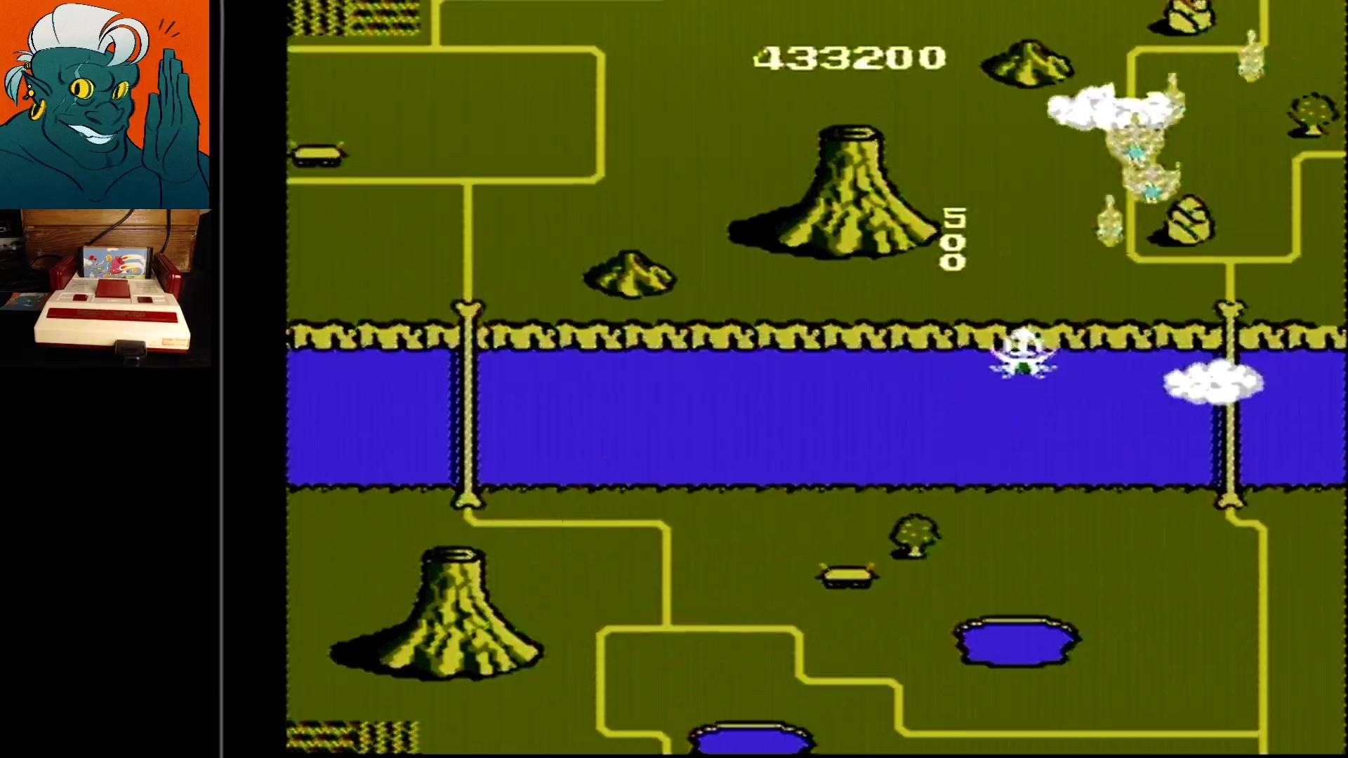 AwesomeOgre: TwinBee [1 Life] (NES/Famicom) 433,200 points on 2019-11-11 06:48:19