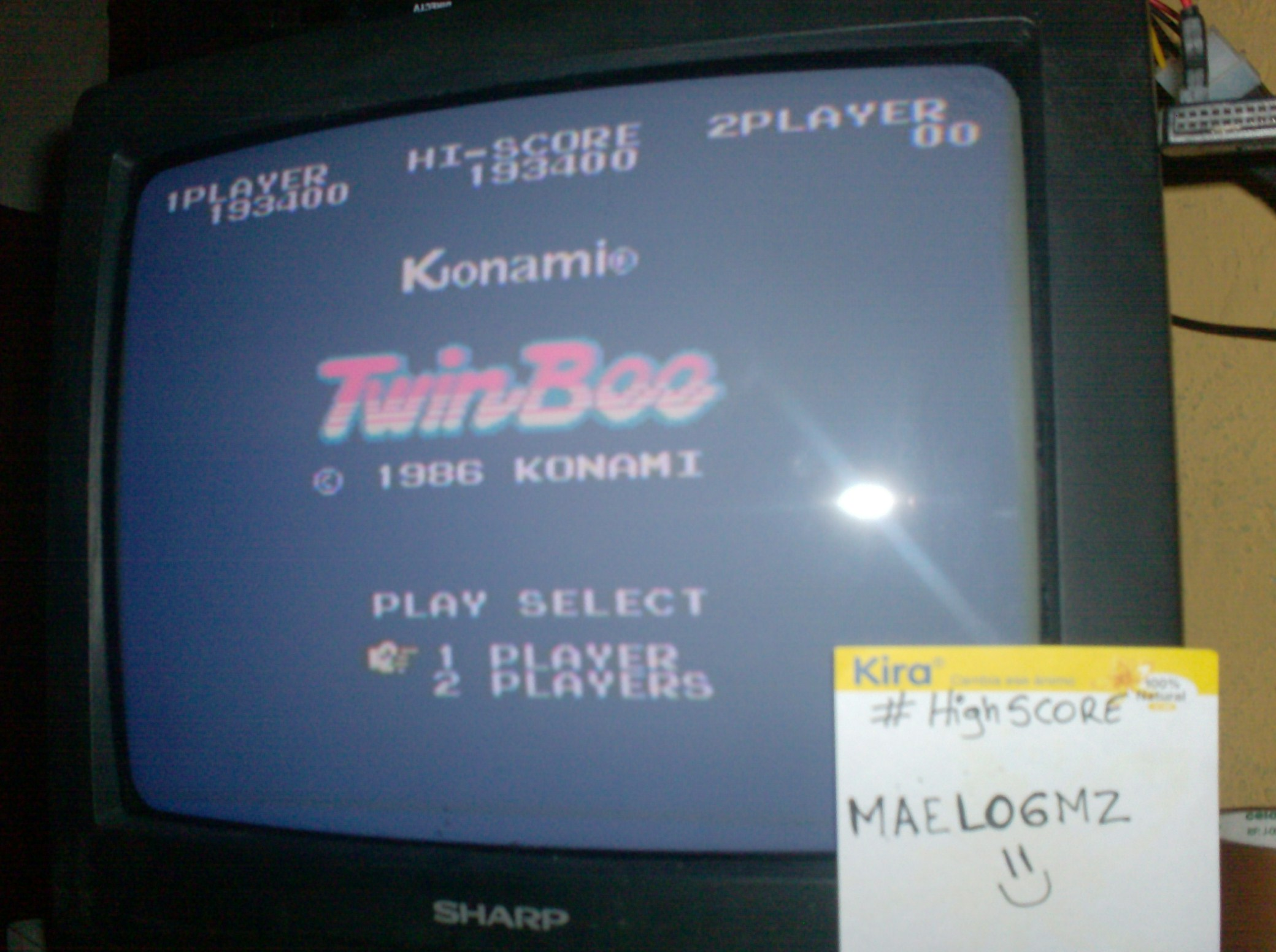TwinBee 193,400 points