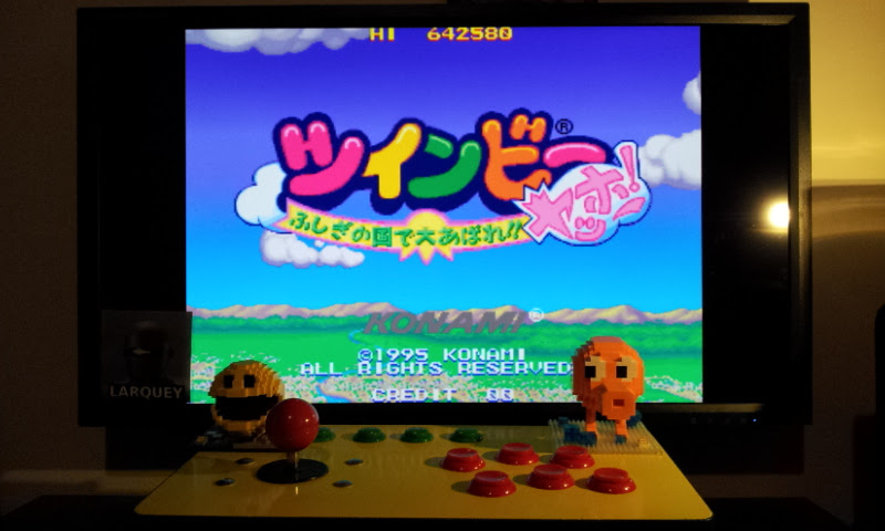 Larquey: TwinBee Yahho! (Arcade Emulated / M.A.M.E.) 642,580 points on 2017-03-09 12:14:34