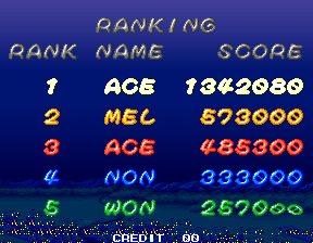 TwinBee Yahho! 1,342,080 points