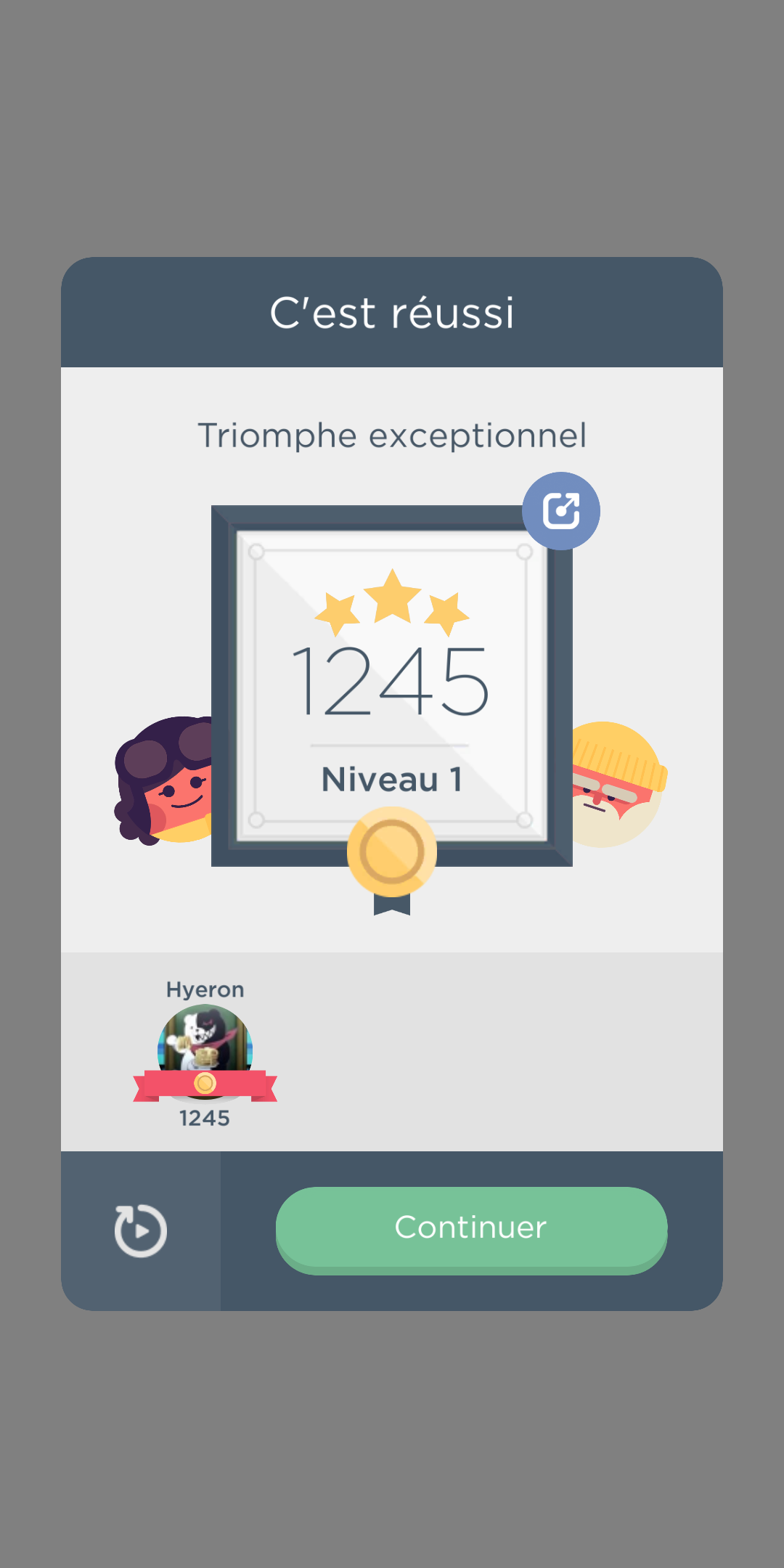Two Dots [Level 1] 1,245 points