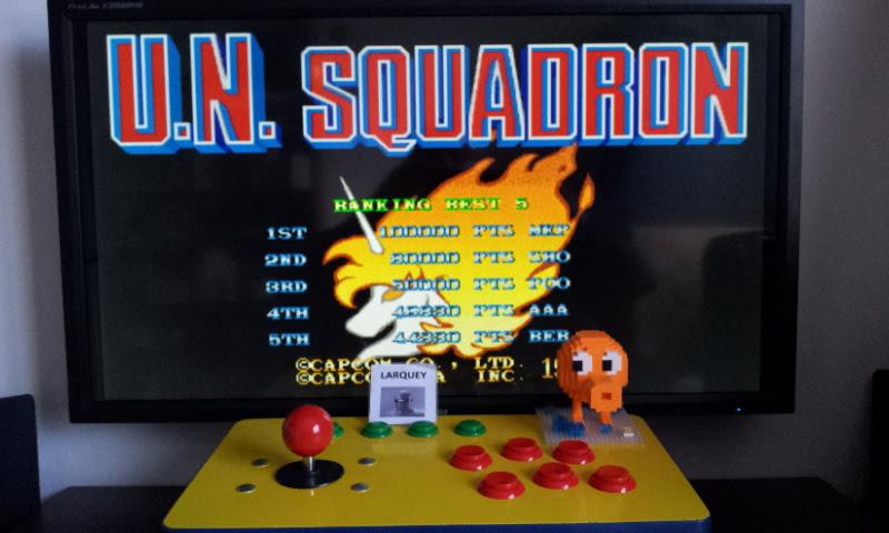 U.N. Squadron 44,330 points