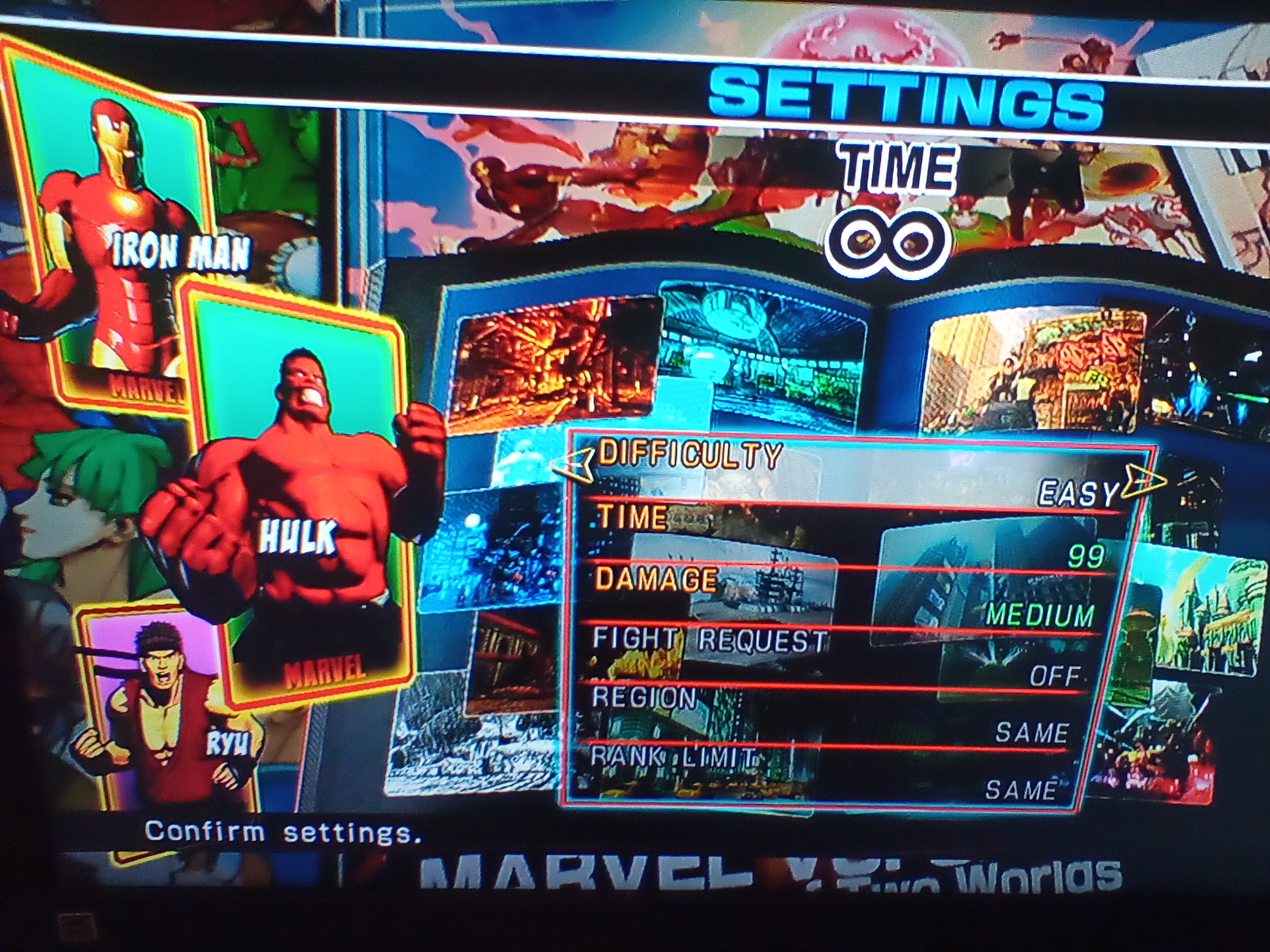 JML101582: Ultimate Marvel vs. Capcom 3 [Arcade] [Easy] (Playstation 3) 222,318 points on 2020-04-05 16:28:04