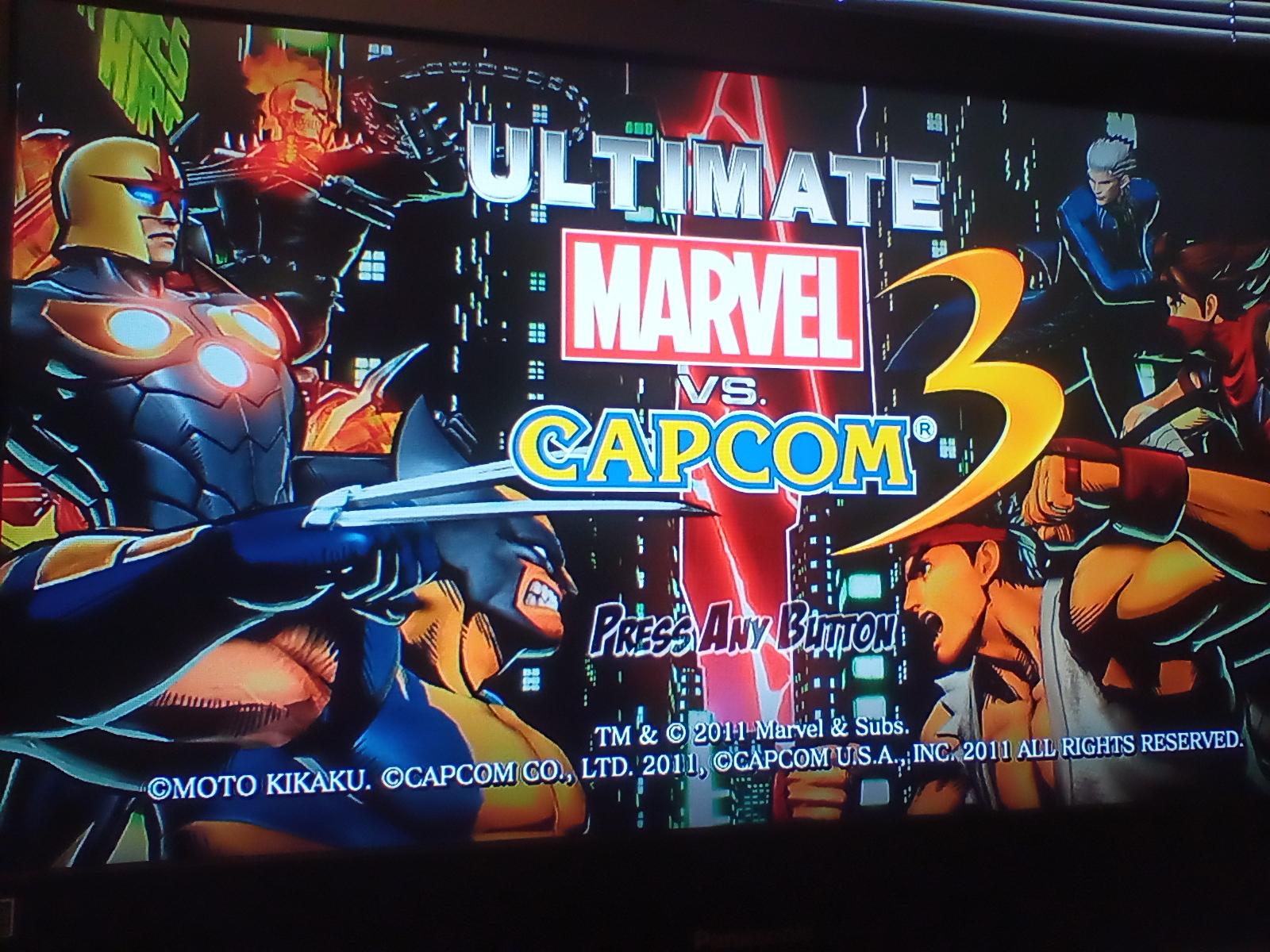 JML101582: Ultimate Marvel vs. Capcom 3 [Arcade] [Very Easy] (Playstation 3) 238,180 points on 2020-03-30 15:58:14